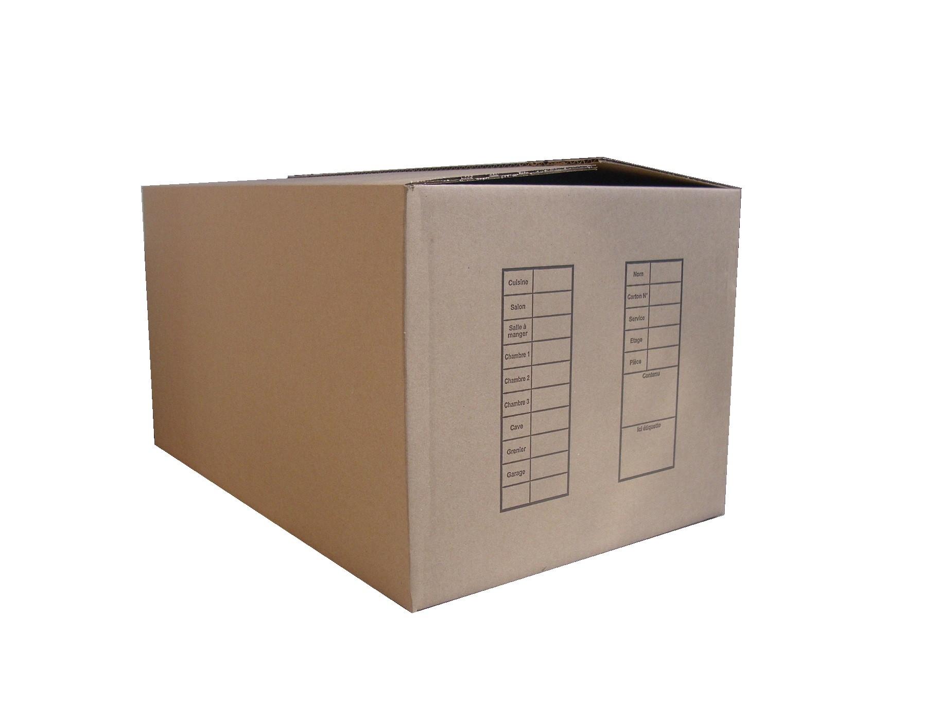 Cartons de déménagement PerpiDem, spécialiste du déménagement à Perpignan